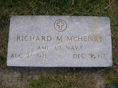 MCHENRY, RICHARD M. - Dawes County, Nebraska | RICHARD M. MCHENRY - Nebraska Gravestone Photos