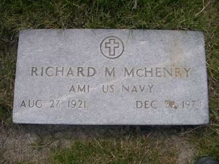 MCHENRY, RICHARD M. - Dawes County, Nebraska | RICHARD M. MCHENRY - Nebraska Gravestone Photos