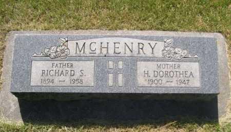 MCHENRY, RICHARD S. - Dawes County, Nebraska | RICHARD S. MCHENRY - Nebraska Gravestone Photos