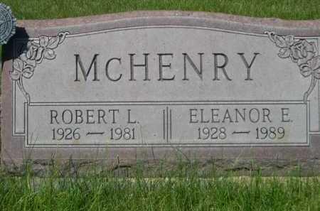 MCHENRY, ROBERT L. - Dawes County, Nebraska | ROBERT L. MCHENRY - Nebraska Gravestone Photos