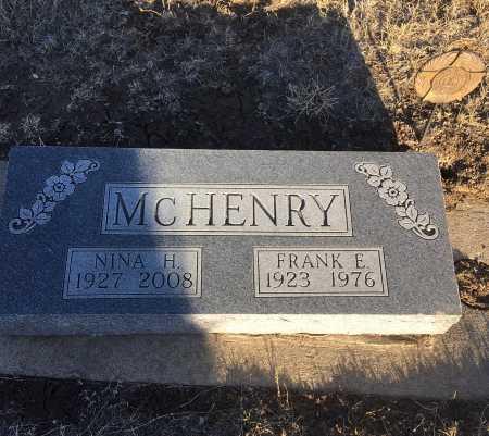 MCHENRY, FRANK E. - Dawes County, Nebraska | FRANK E. MCHENRY - Nebraska Gravestone Photos