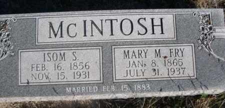 FRY MCINTOSH, MARY M. - Dawes County, Nebraska | MARY M. FRY MCINTOSH - Nebraska Gravestone Photos