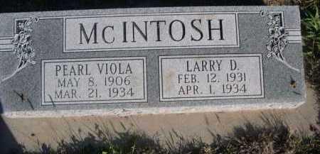 MCINTOSH, PEARL VIOLA - Dawes County, Nebraska | PEARL VIOLA MCINTOSH - Nebraska Gravestone Photos