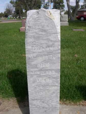 MCINTYRE, DUNCAN - Dawes County, Nebraska | DUNCAN MCINTYRE - Nebraska Gravestone Photos