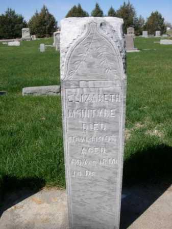 MCINTYRE, ELIZABETH - Dawes County, Nebraska | ELIZABETH MCINTYRE - Nebraska Gravestone Photos