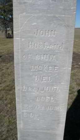 MCKEE, JOHN - Dawes County, Nebraska | JOHN MCKEE - Nebraska Gravestone Photos