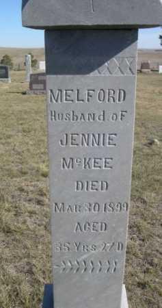 MCKEE, MELFORD - Dawes County, Nebraska | MELFORD MCKEE - Nebraska Gravestone Photos