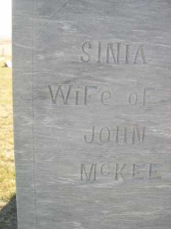 MCKEE, SINIA - Dawes County, Nebraska | SINIA MCKEE - Nebraska Gravestone Photos