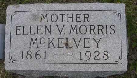 MORRIS MCKELVEY, ELLEN V. - Dawes County, Nebraska | ELLEN V. MORRIS MCKELVEY - Nebraska Gravestone Photos