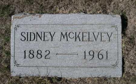 MCKELVEY, SIDNEY - Dawes County, Nebraska | SIDNEY MCKELVEY - Nebraska Gravestone Photos