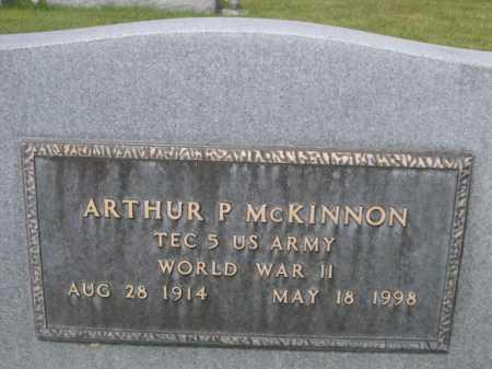 MCKINNON, ARTHUR P. - Dawes County, Nebraska | ARTHUR P. MCKINNON - Nebraska Gravestone Photos