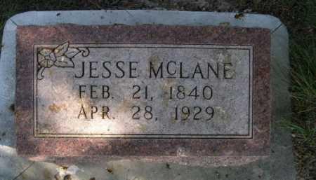 MCLANE, JESSE - Dawes County, Nebraska   JESSE MCLANE - Nebraska Gravestone Photos
