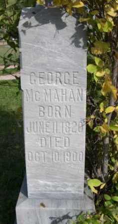 MCMAHAN, GEORGE - Dawes County, Nebraska | GEORGE MCMAHAN - Nebraska Gravestone Photos