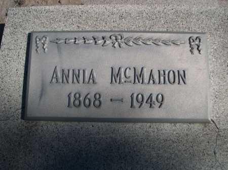 MCMAHON, ANNIA - Dawes County, Nebraska | ANNIA MCMAHON - Nebraska Gravestone Photos