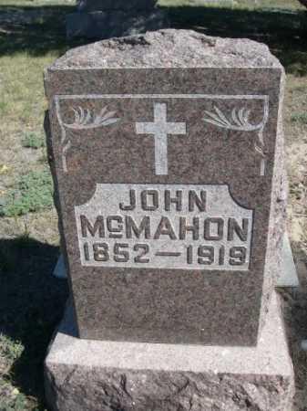 MCMAHON, JOHN - Dawes County, Nebraska   JOHN MCMAHON - Nebraska Gravestone Photos