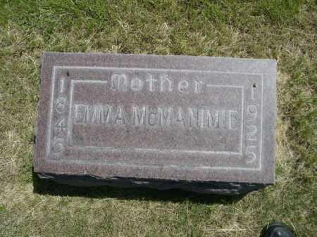 MCMANIMIE, EMMA - Dawes County, Nebraska | EMMA MCMANIMIE - Nebraska Gravestone Photos