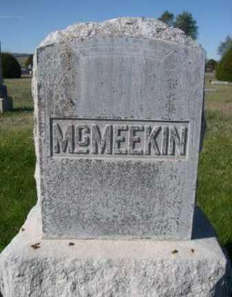 MCMEEKIN, FAMILY - Dawes County, Nebraska | FAMILY MCMEEKIN - Nebraska Gravestone Photos