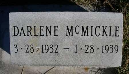 MCMICKLE, DARLENE - Dawes County, Nebraska   DARLENE MCMICKLE - Nebraska Gravestone Photos
