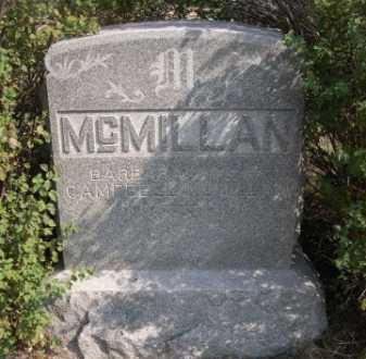 MCMILLAN, BARBARA - Dawes County, Nebraska | BARBARA MCMILLAN - Nebraska Gravestone Photos