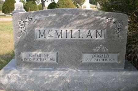 MCMILLAN, DUGALD - Dawes County, Nebraska | DUGALD MCMILLAN - Nebraska Gravestone Photos