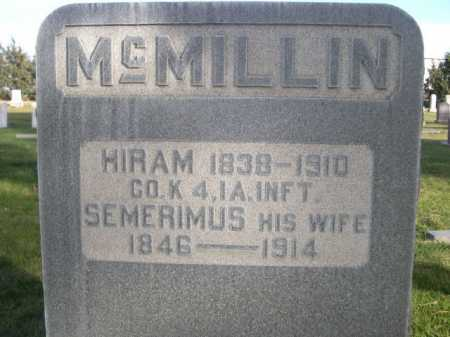 MCMILLIN, SEMERIMUS - Dawes County, Nebraska   SEMERIMUS MCMILLIN - Nebraska Gravestone Photos
