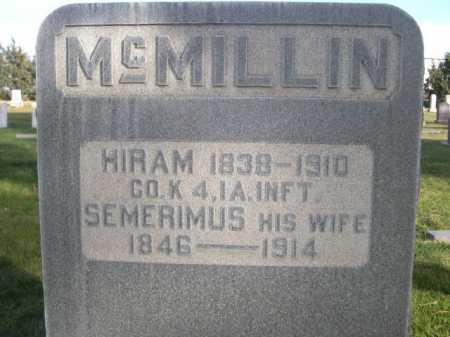 MCMILLIN, SEMERIMUS - Dawes County, Nebraska | SEMERIMUS MCMILLIN - Nebraska Gravestone Photos