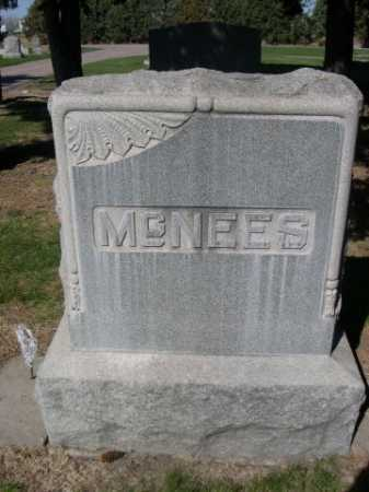 MCNEES, FAMILY - Dawes County, Nebraska | FAMILY MCNEES - Nebraska Gravestone Photos