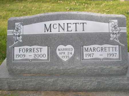 MCNETT, FORREST - Dawes County, Nebraska | FORREST MCNETT - Nebraska Gravestone Photos