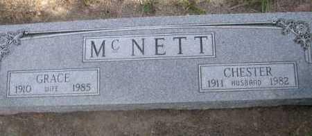 MCNETT, GRACE - Dawes County, Nebraska | GRACE MCNETT - Nebraska Gravestone Photos