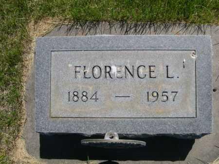 MCNUTT, FLORENCE L. - Dawes County, Nebraska | FLORENCE L. MCNUTT - Nebraska Gravestone Photos