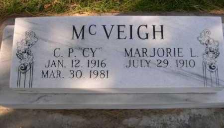 "MCVEIGH, C.P. ""CY"" - Dawes County, Nebraska | C.P. ""CY"" MCVEIGH - Nebraska Gravestone Photos"