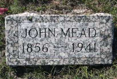 MEAD, JOHN - Dawes County, Nebraska | JOHN MEAD - Nebraska Gravestone Photos