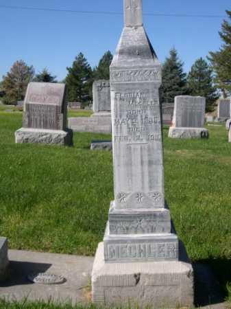 MECHLER, FLORIAN - Dawes County, Nebraska | FLORIAN MECHLER - Nebraska Gravestone Photos