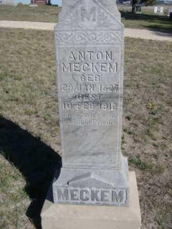 MECKEM, ANTON - Dawes County, Nebraska   ANTON MECKEM - Nebraska Gravestone Photos