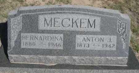 MECKEM, ANTON J. - Dawes County, Nebraska | ANTON J. MECKEM - Nebraska Gravestone Photos