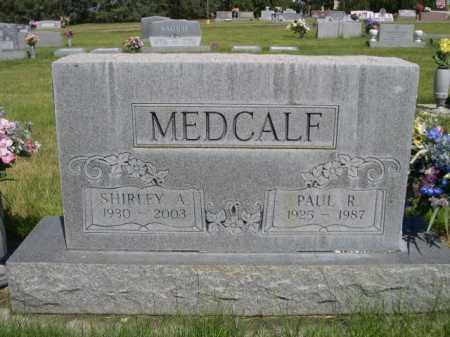 MEDCALF, SHIRLEY A. - Dawes County, Nebraska | SHIRLEY A. MEDCALF - Nebraska Gravestone Photos