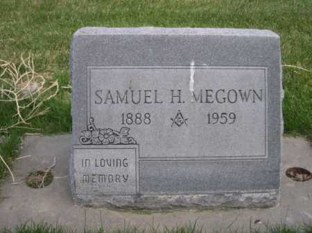MEGOWN, SAMUEL H. - Dawes County, Nebraska | SAMUEL H. MEGOWN - Nebraska Gravestone Photos