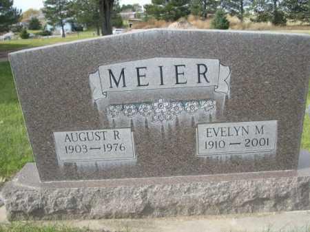 MEIER, AUGUST R. - Dawes County, Nebraska | AUGUST R. MEIER - Nebraska Gravestone Photos