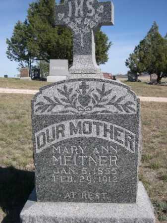 MEITNER, MARY ANN - Dawes County, Nebraska   MARY ANN MEITNER - Nebraska Gravestone Photos