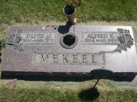 MEKEEL, ALFRED E. - Dawes County, Nebraska | ALFRED E. MEKEEL - Nebraska Gravestone Photos