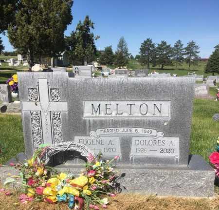 MELTON, EUGENE A. - Dawes County, Nebraska | EUGENE A. MELTON - Nebraska Gravestone Photos