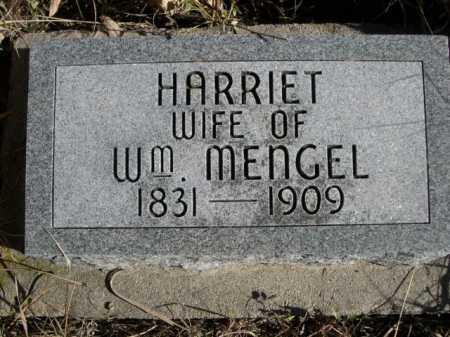 MENGEL, HARRIET - Dawes County, Nebraska   HARRIET MENGEL - Nebraska Gravestone Photos