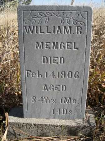 MENGEL, WILLIAM R. - Dawes County, Nebraska | WILLIAM R. MENGEL - Nebraska Gravestone Photos