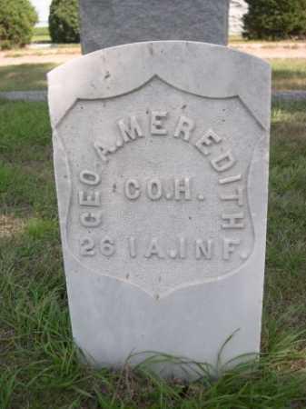 MEREDITH, GEO. A. - Dawes County, Nebraska   GEO. A. MEREDITH - Nebraska Gravestone Photos