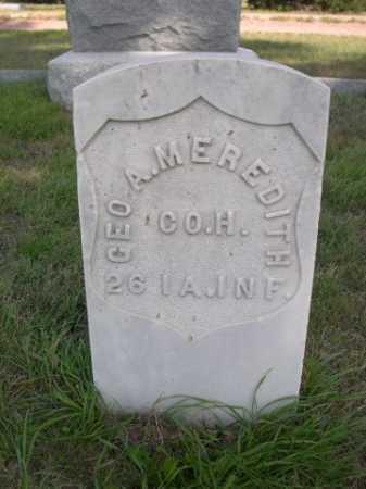 MEREDITH, GEO. A. - Dawes County, Nebraska | GEO. A. MEREDITH - Nebraska Gravestone Photos