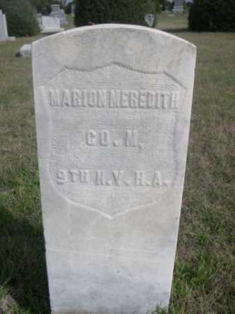 MEREDITH, MARION - Dawes County, Nebraska   MARION MEREDITH - Nebraska Gravestone Photos