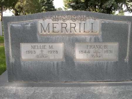MERRILL, FRANK B. - Dawes County, Nebraska | FRANK B. MERRILL - Nebraska Gravestone Photos