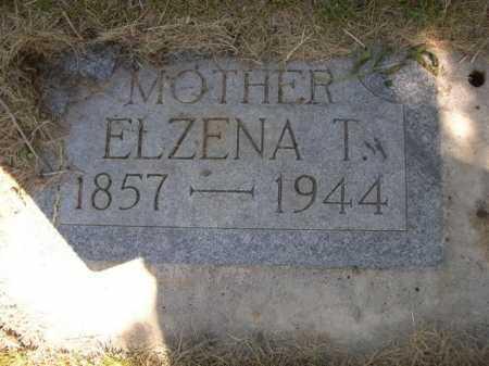 MERRITT, ELZENA T. - Dawes County, Nebraska | ELZENA T. MERRITT - Nebraska Gravestone Photos