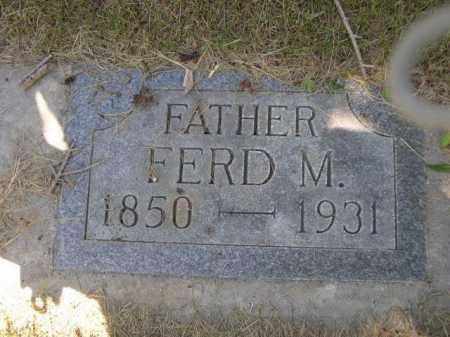 MERRITT, FRED M. - Dawes County, Nebraska | FRED M. MERRITT - Nebraska Gravestone Photos