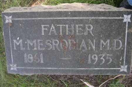 MESROPIAN, DR. M. - Dawes County, Nebraska | DR. M. MESROPIAN - Nebraska Gravestone Photos